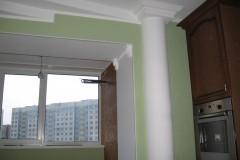 Ремонт кухни и лоджии на проспекте Строителей 156 а