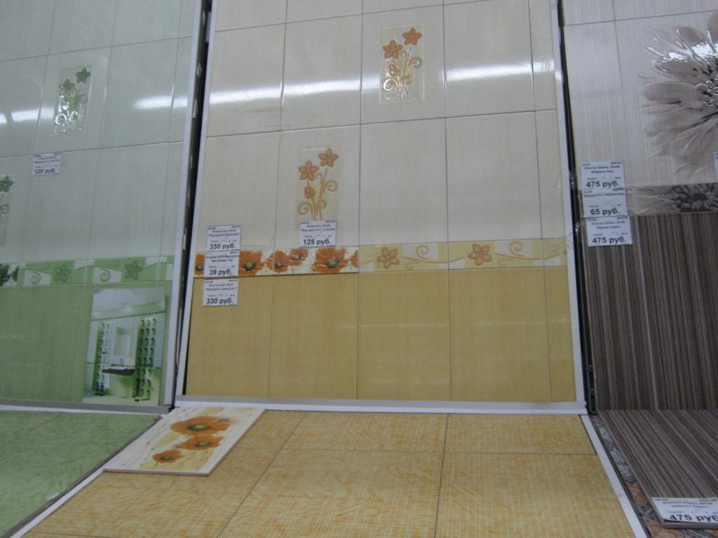 Плитка подешевле - один из способов экономии на ремонте квартиры