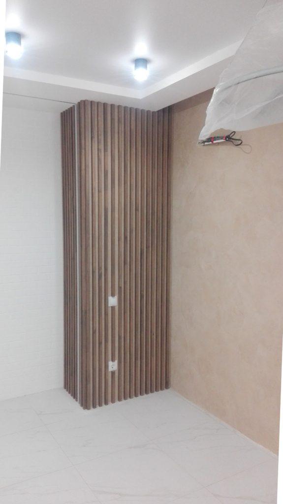 Реечные перегородки - дизайнерское решение в квартире